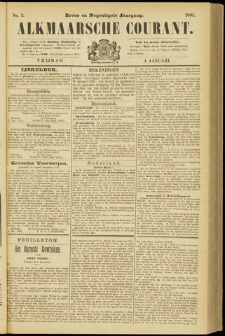 Alkmaarsche Courant 1895-01-04