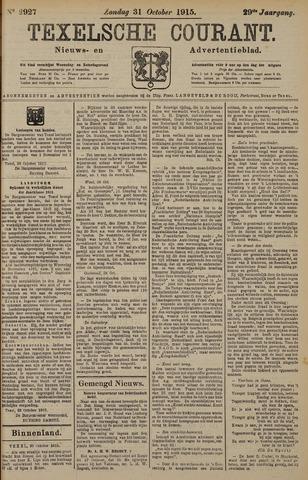 Texelsche Courant 1915-10-31