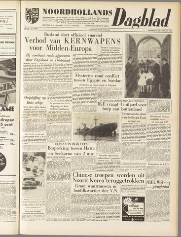 Noordhollands Dagblad : dagblad voor Alkmaar en omgeving 1958-02-20