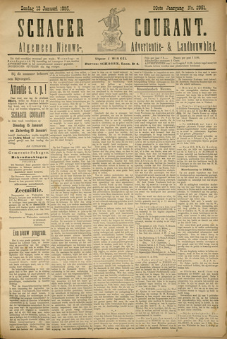 Schager Courant 1895-01-13