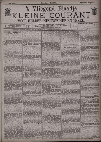 Vliegend blaadje : nieuws- en advertentiebode voor Den Helder 1887-05-04
