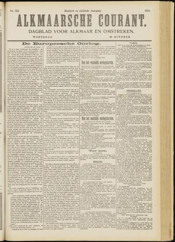 Alkmaarsche Courant 1914-10-28