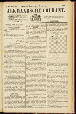 Alkmaarsche Courant 1896-11-29