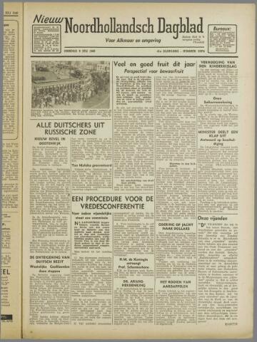 Nieuw Noordhollandsch Dagblad : voor Alkmaar en omgeving 1946-07-09