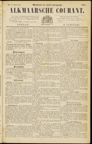 Alkmaarsche Courant 1899-01-15