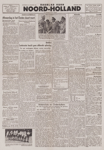 Dagblad Noord-Holland, Schager editie 1943-08-26
