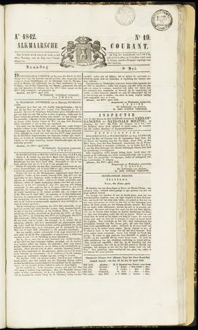 Alkmaarsche Courant 1842-05-09