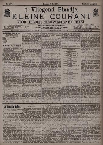 Vliegend blaadje : nieuws- en advertentiebode voor Den Helder 1890-05-17