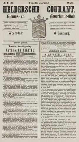 Heldersche Courant 1872-01-03