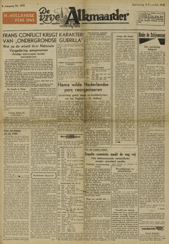 De Vrije Alkmaarder 1947-12-04