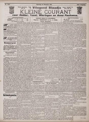 Vliegend blaadje : nieuws- en advertentiebode voor Den Helder 1904-12-24