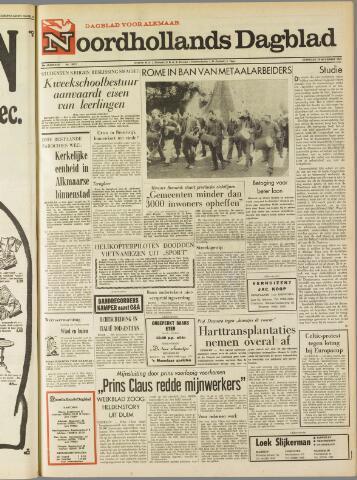 Noordhollands Dagblad : dagblad voor Alkmaar en omgeving 1969-11-29