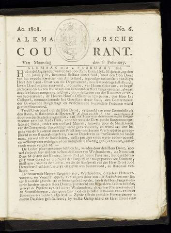 Alkmaarsche Courant 1808-02-08