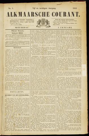 Alkmaarsche Courant 1883-01-03
