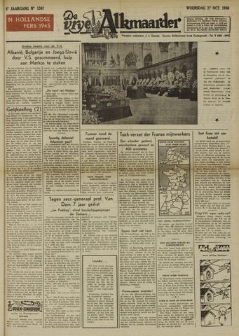 De Vrije Alkmaarder 1948-10-27