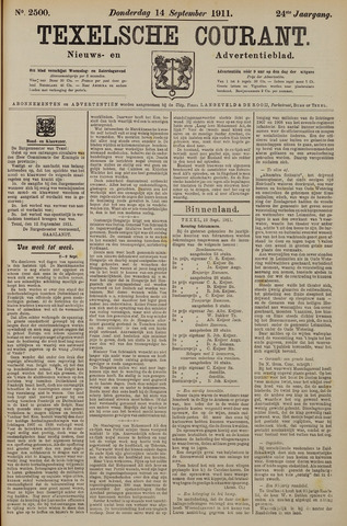 Texelsche Courant 1911-09-14