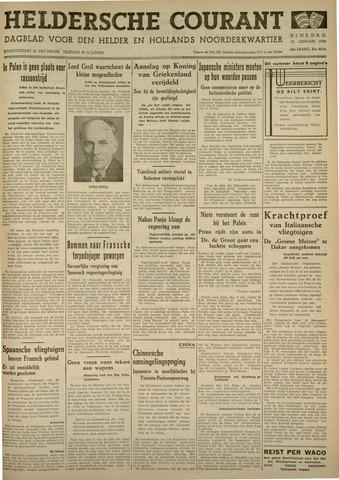 Heldersche Courant 1938-01-25