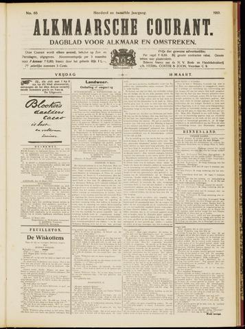 Alkmaarsche Courant 1910-03-18