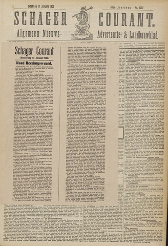 Schager Courant 1920-01-17