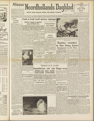 Nieuw Noordhollandsch Dagblad : voor Alkmaar en omgeving 1949-03-10