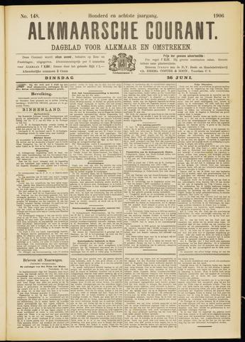 Alkmaarsche Courant 1906-06-26