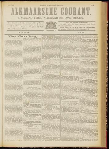 Alkmaarsche Courant 1916-05-01