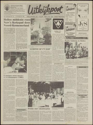 Uitkijkpost : nieuwsblad voor Heiloo e.o. 1988-08-10