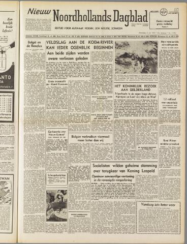 Nieuw Noordhollandsch Dagblad : voor Alkmaar en omgeving 1950-07-12