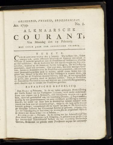 Alkmaarsche Courant 1799-02-25