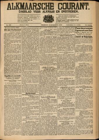 Alkmaarsche Courant 1930-08-01
