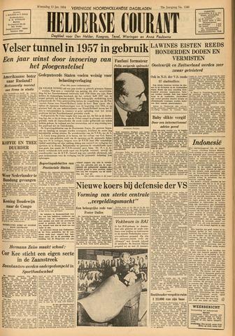 Heldersche Courant 1954-01-13