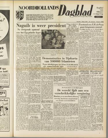 Noordhollands Dagblad : dagblad voor Alkmaar en omgeving 1954-03-01