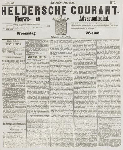 Heldersche Courant 1876-06-28
