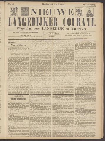Nieuwe Langedijker Courant 1899-04-30