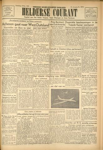 Heldersche Courant 1949-11-10