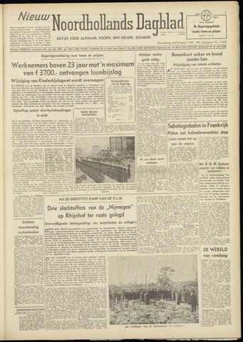 Nieuw Noordhollandsch Dagblad : voor Alkmaar en omgeving 1948-10-28