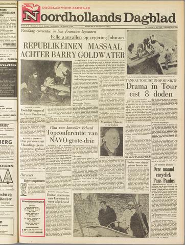 Noordhollands Dagblad : dagblad voor Alkmaar en omgeving 1964-07-13