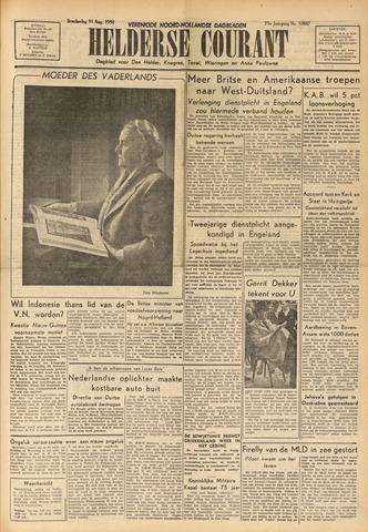 Heldersche Courant 1950-08-31