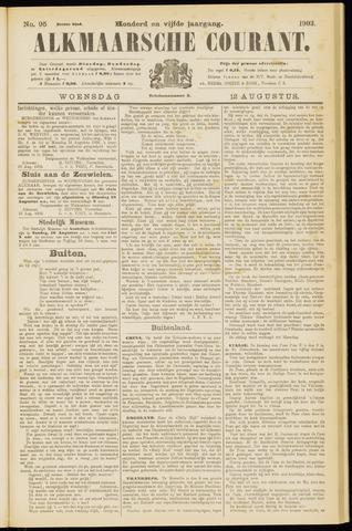 Alkmaarsche Courant 1903-08-12