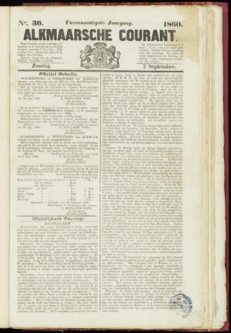 Alkmaarsche Courant 1860-09-02