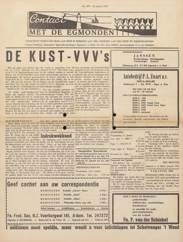 Contact met de Egmonden 1965-01-28