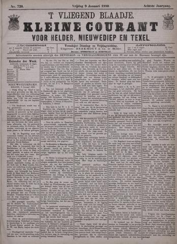 Vliegend blaadje : nieuws- en advertentiebode voor Den Helder 1880-01-09