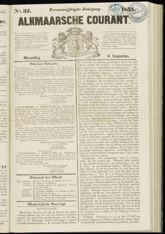 Alkmaarsche Courant 1855-08-06