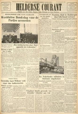 Heldersche Courant 1955-02-28
