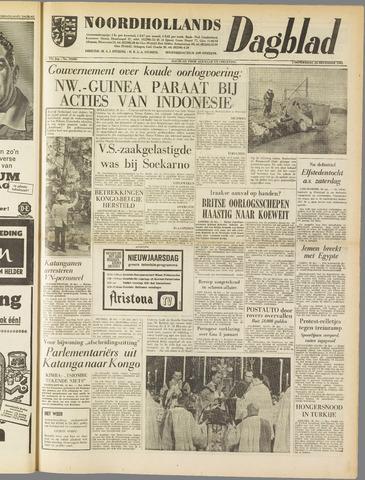 Noordhollands Dagblad : dagblad voor Alkmaar en omgeving 1961-12-28