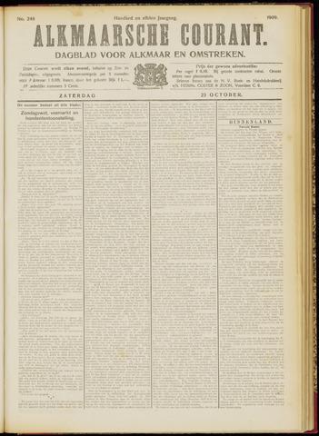 Alkmaarsche Courant 1909-10-23
