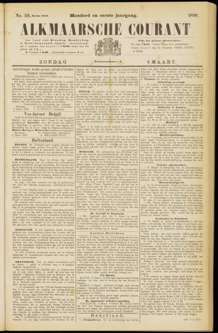 Alkmaarsche Courant 1899-03-05