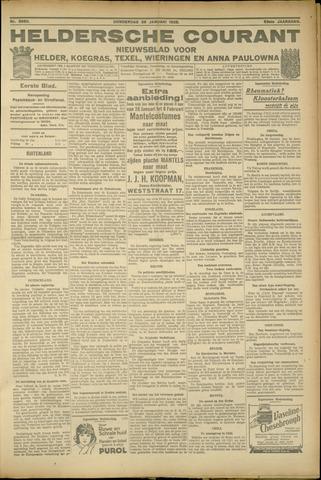 Heldersche Courant 1925-01-29