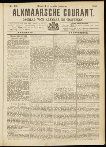 Alkmaarsche Courant 1906-09-01
