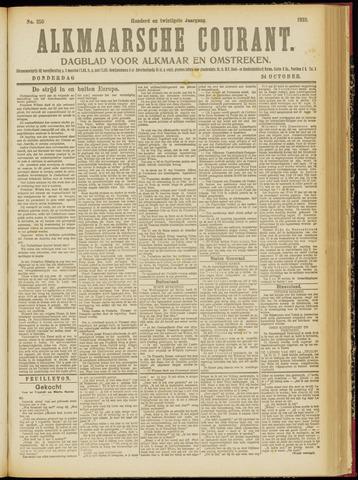 Alkmaarsche Courant 1918-10-24